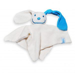 Baby tutpop met geborduurde naam door My-W Creations